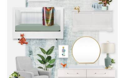 E-Design Reveal: A Whimsical Nursery Inspired by Artwork