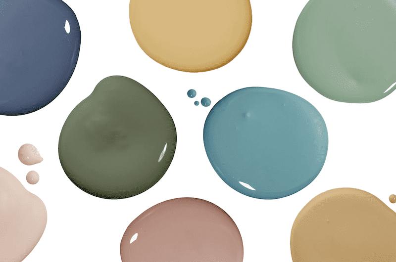 Low VOC nursery paint