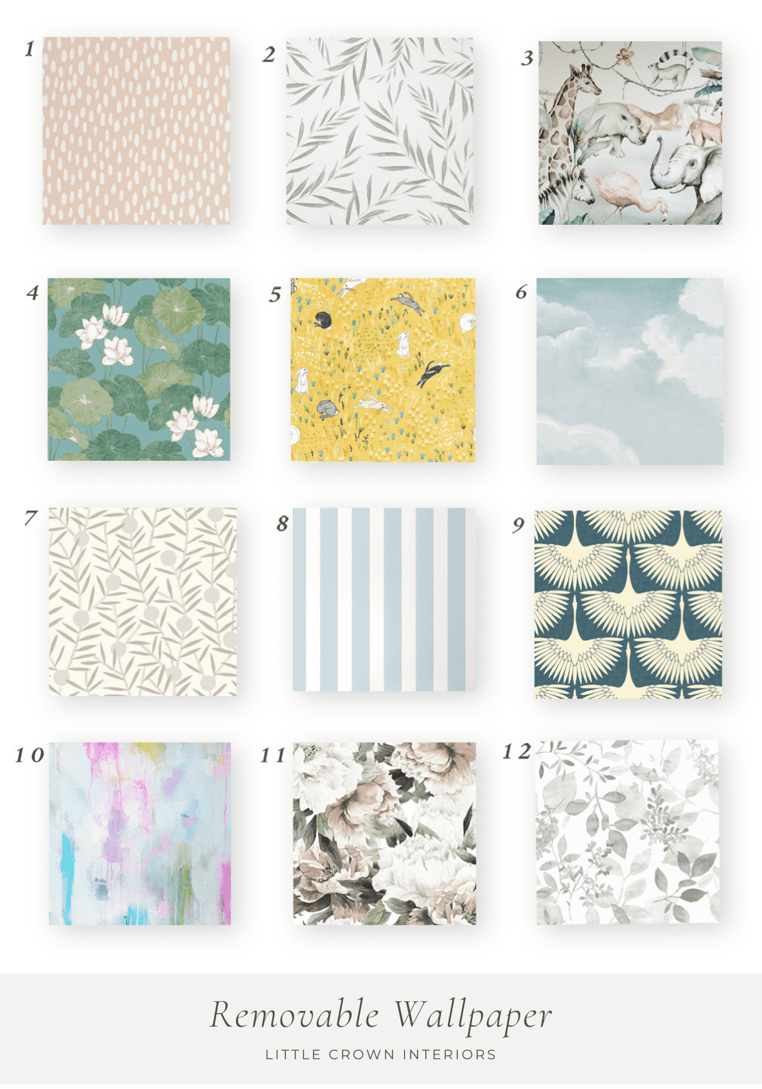 Removable Wallpaper Roundup