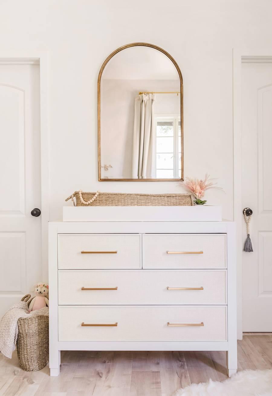 Natural & Neutral Nursery Dresser