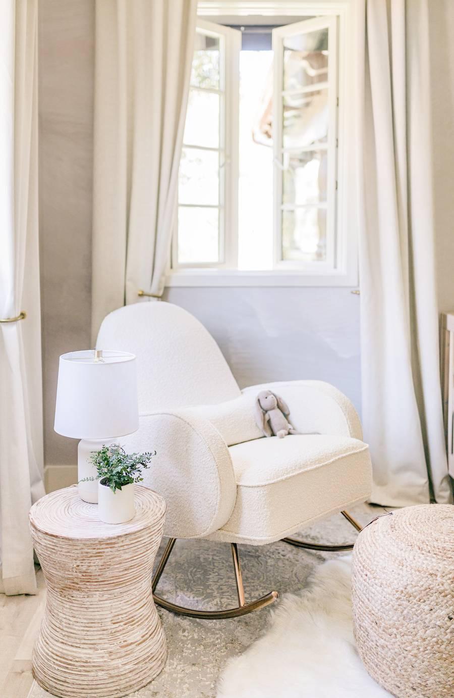Natural & Neutral Nursery Rocking Chair