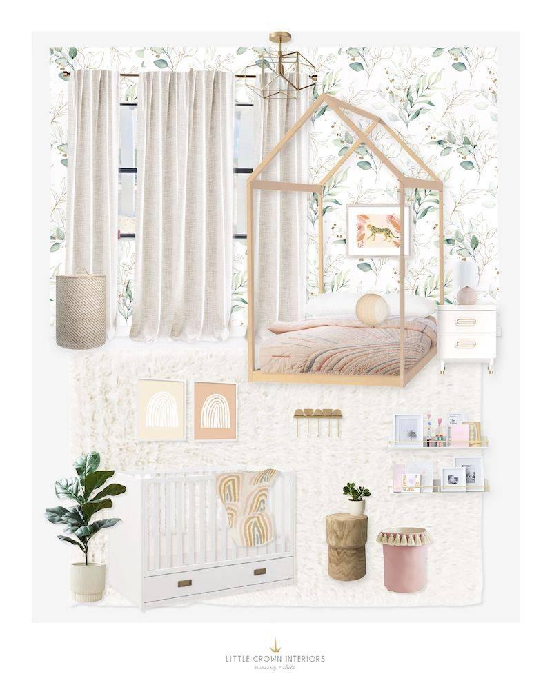 Whimsical Nursery and Kid's Bedroom