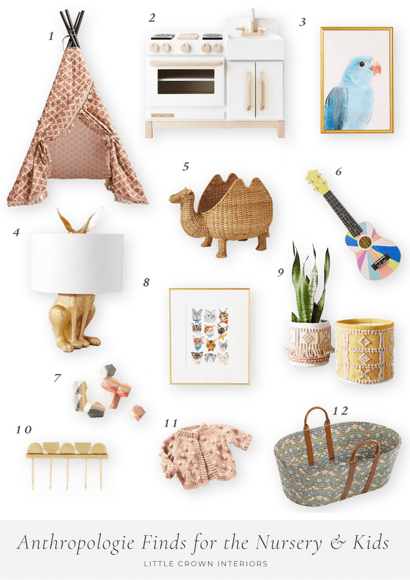 Anthropologie Toys and Decor for the Nursery and Kids