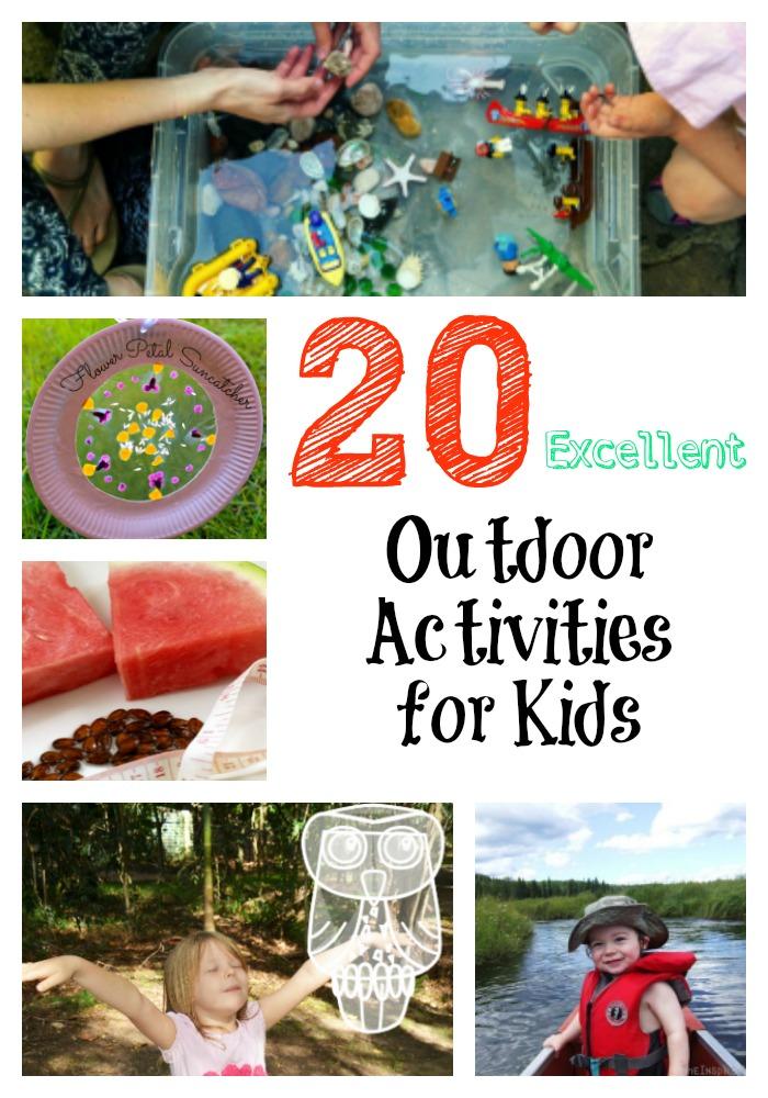 20 Excellent Outdoor Activities For Kids  A Little