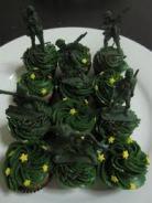 Army Cupcakes 3