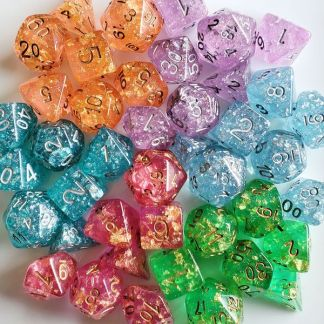 Dice Sorted by Colors