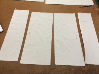 Getting the fabric ready