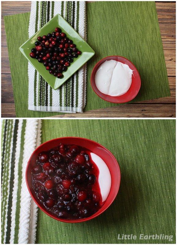 cranberry scone recipe with cranberry cream
