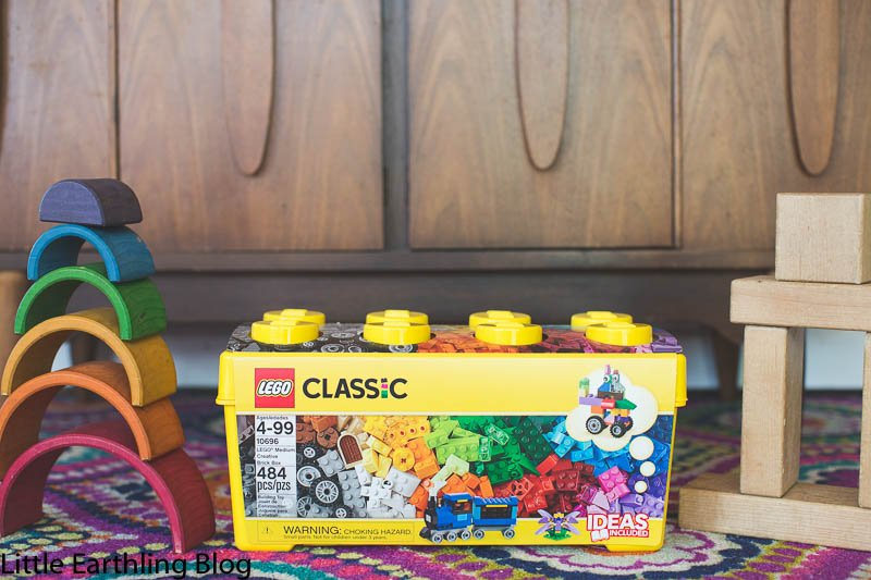 LEGO Organizing Ideas for Real Families