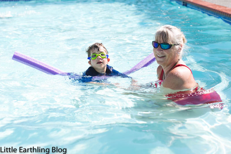 Swimming Lessons {YMCA Safety Around Water}