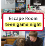 Escape Room Game Night At Home Perfect For Teens