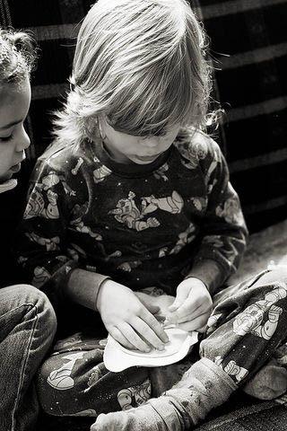 Preschool Activities {Embroidery}