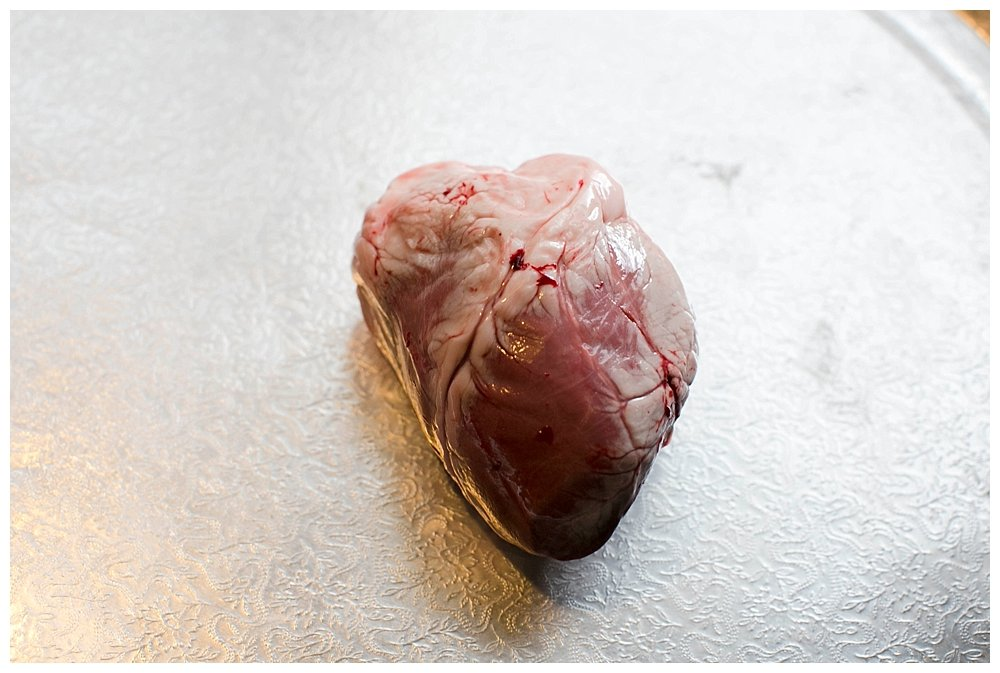 Lamb Heart Dissection: Homeschool Halloween Science Party