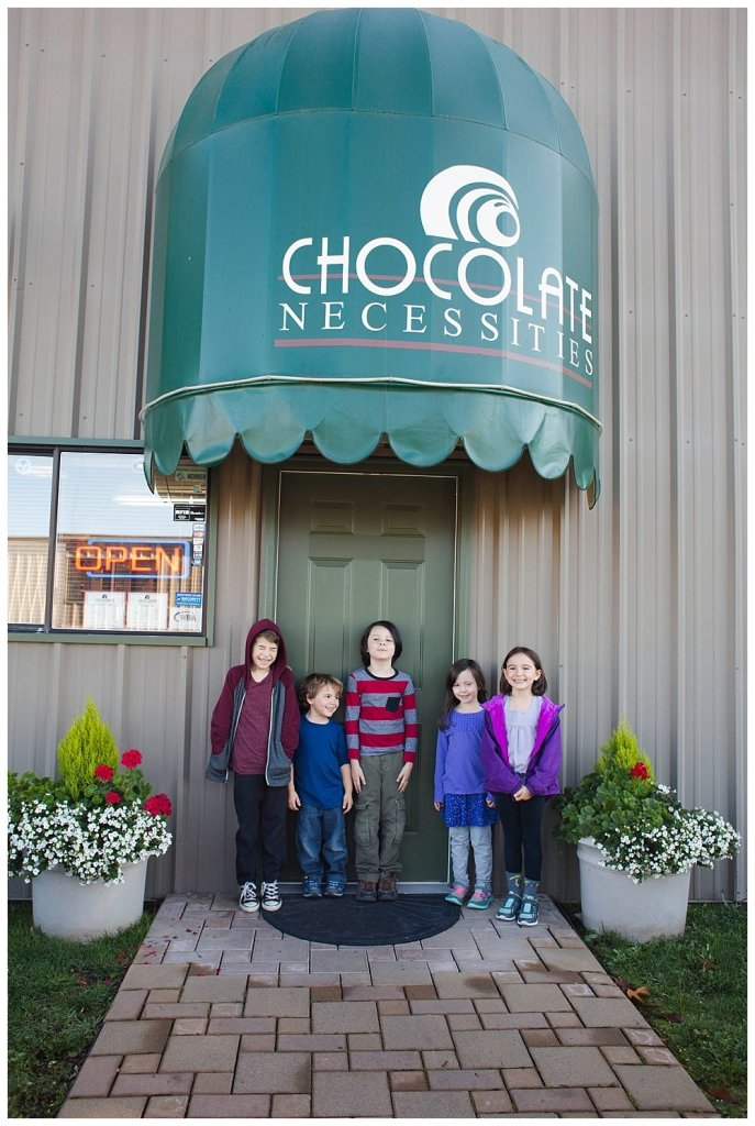 We toured Chocolate Necessities as last week's homeschool adventure.