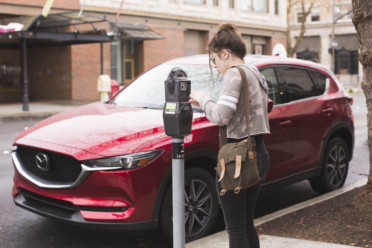 The Mazda CX-5 is perfect for driving around town.
