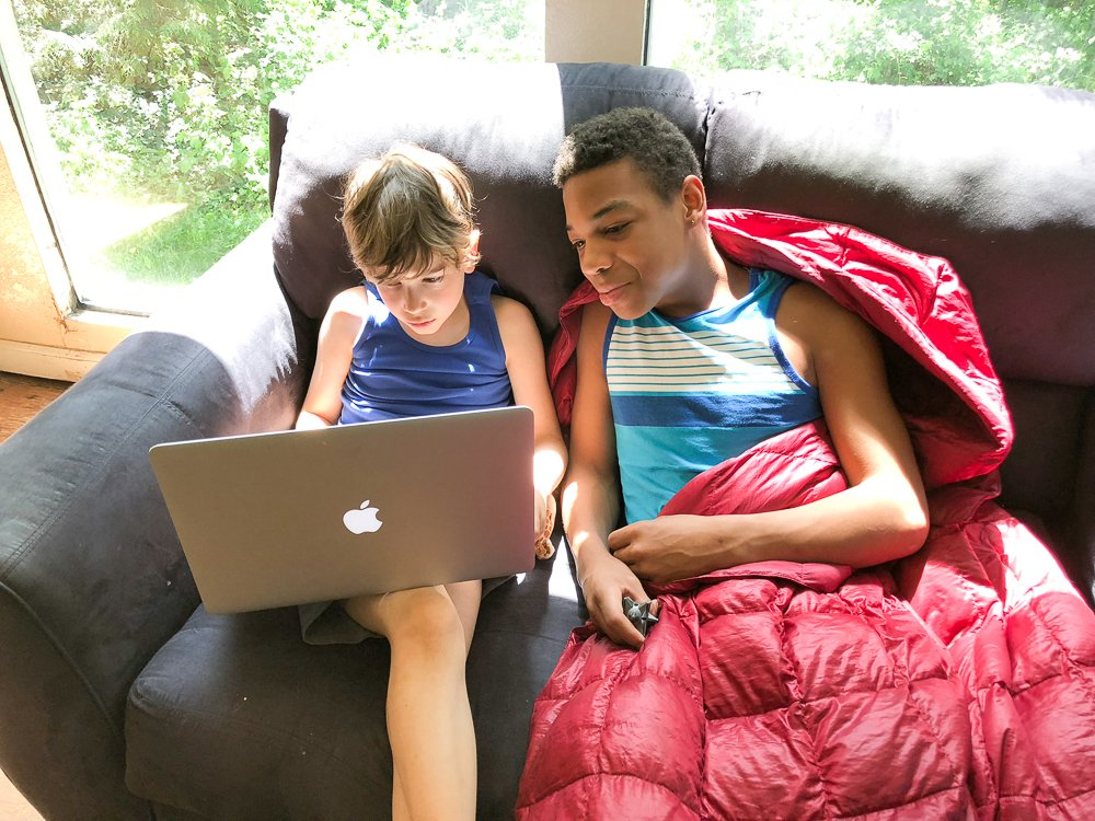 Screen time as well as physical activity has to be limited after a concussion.