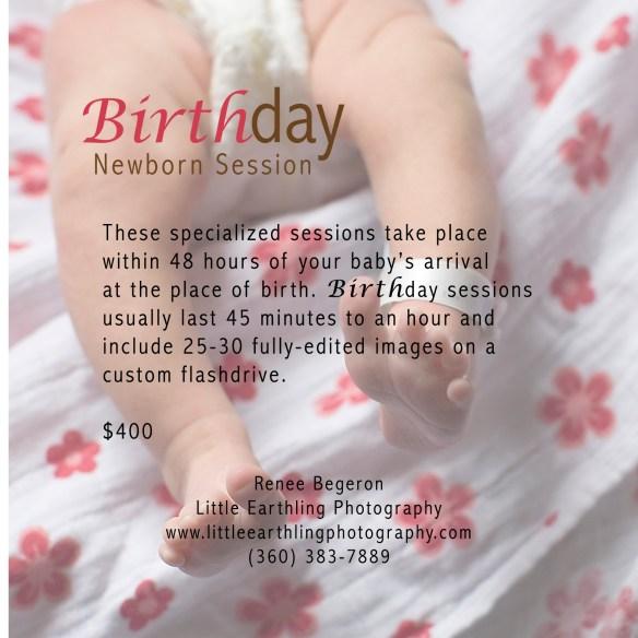 birth photography, bellingham birth photographer, bellingham newborn photographer, birth day photos session