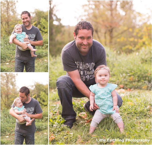 Chloe and her Daddy. Chloe was born with Down syndrome
