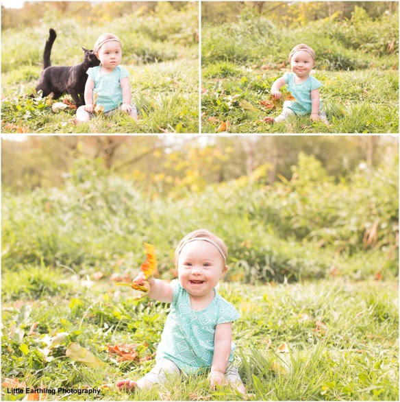 Chloe was born with Down syndrome. Bellingham photographer.