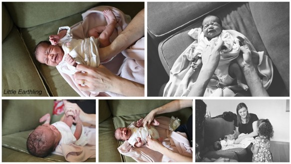 newborn baby lifestyle session
