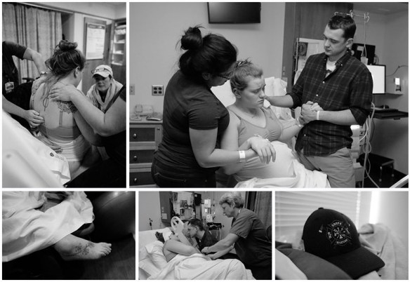 The birth of Harlan, a 35 week preemie by Little Earthling Photography, Bellingham, WA
