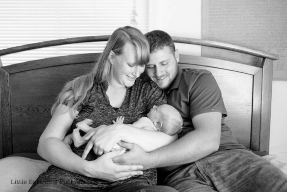 Asa is a very special rainbow baby born less than a year after his stillborn brother, Matthew. Bellingham, WA