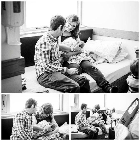 Felix's Fresh 48 Session. Bellingham newborn photographer, Renee Bergeron.