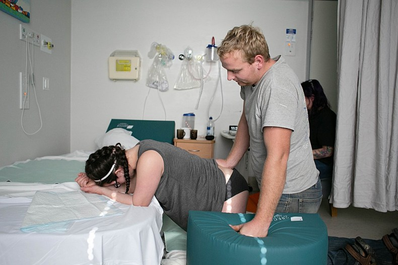 New Zealand birthing room.