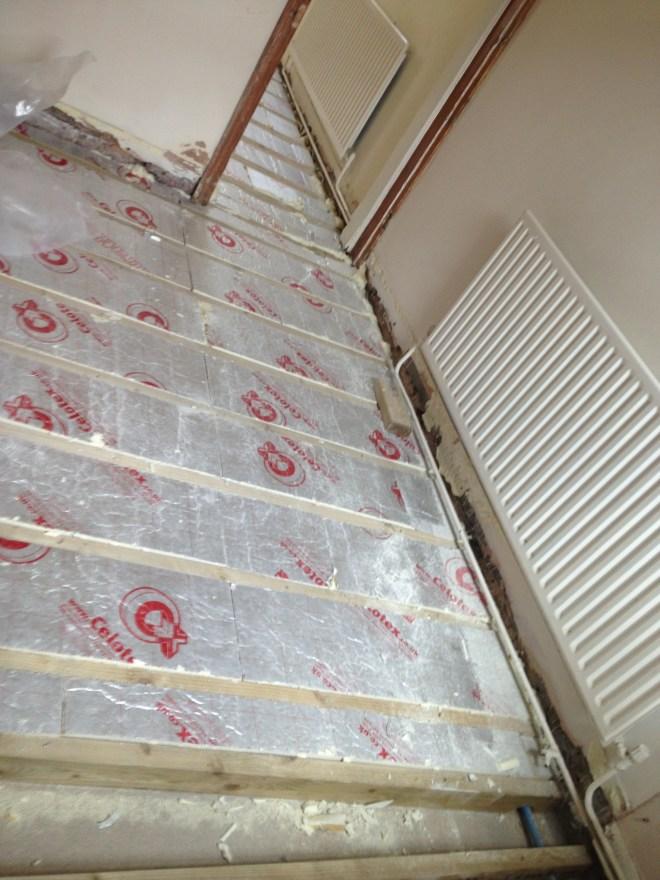 100mm of insulation