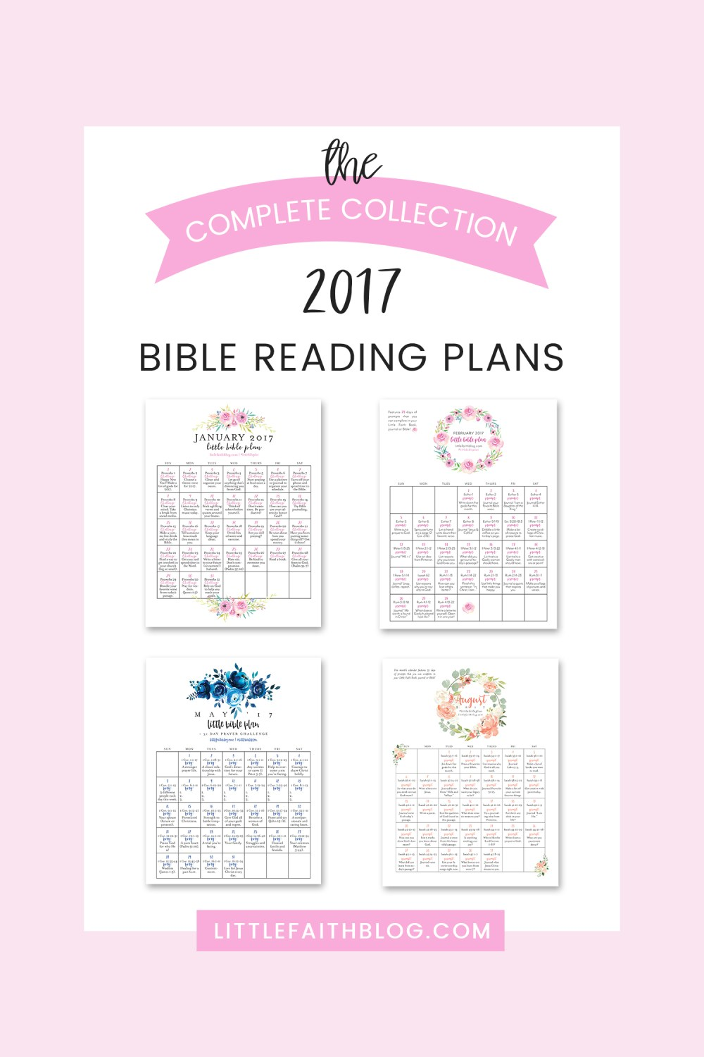 The Complete Collection: 2017 Bible Reading Plans