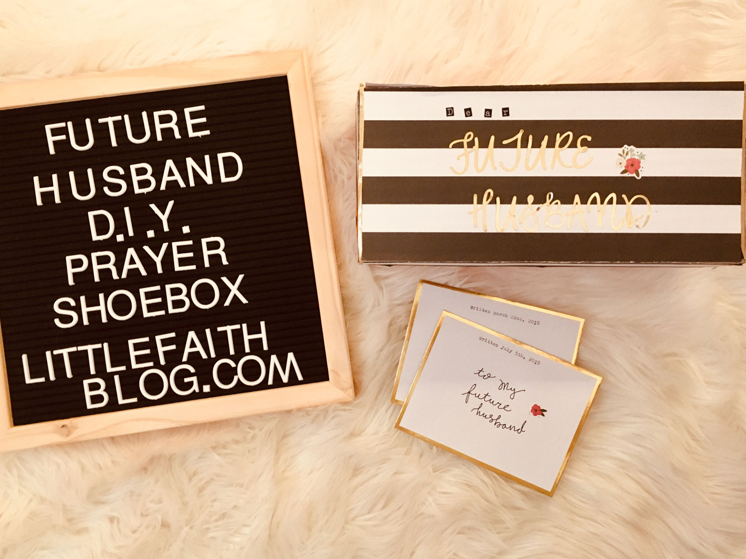DIY Shoebox of Letters for Your Future Husband – Little