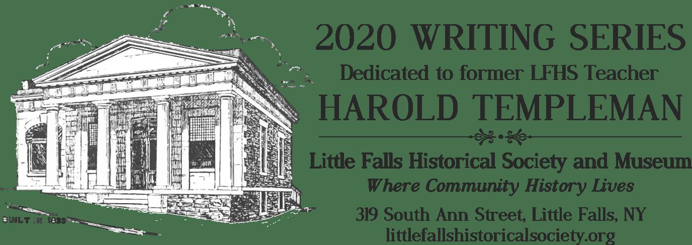 2020 Writing Series Dedicated to former LFHS Teacher Harold Templeman