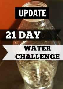 21 Day Water Challenge UPDATE Video