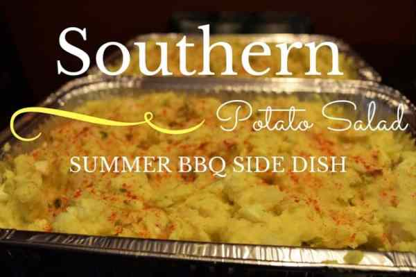 summer bbq southern potato salad