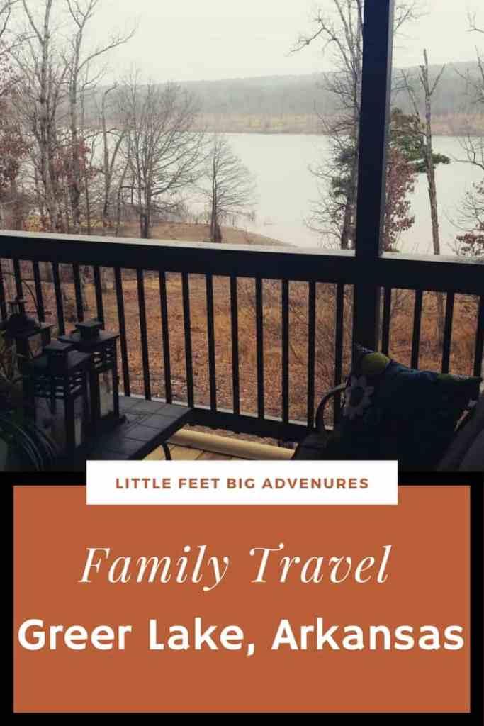 family travel to greer lake arkansas