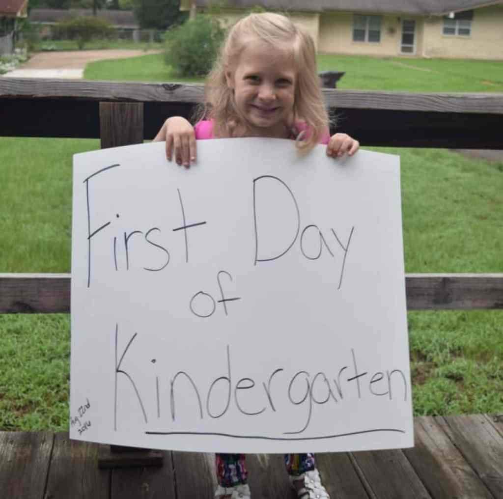 Kindergarten Moms it's hard letting go but you can do it!