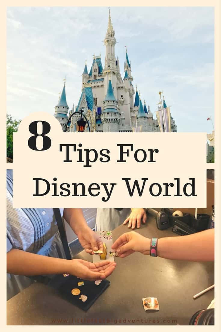 8 Tips for how to plan and save during your first trip to Disney World.