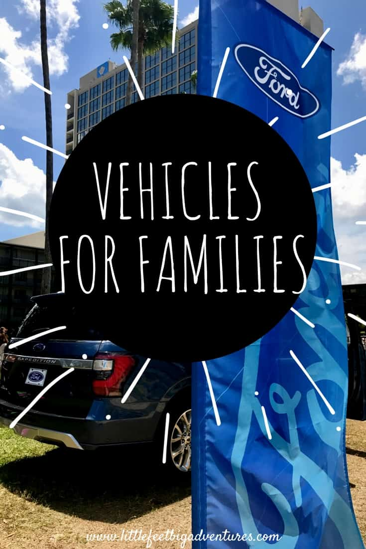 The 2018 Ford vehicles are great for families! Check out why!