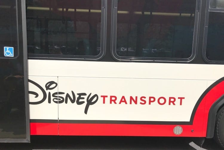 The transportation to and from the parks at Walt Disney World is easy to use