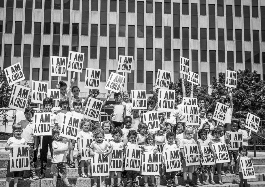 I Am A Child immigration protest photo