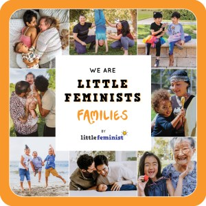 Little Feminist FAMILIES board book cover