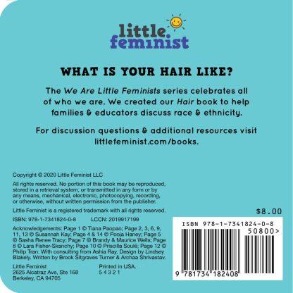 Little Feminist Hair back cover