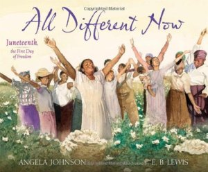 Juneteenth best book picks: all different now book cover