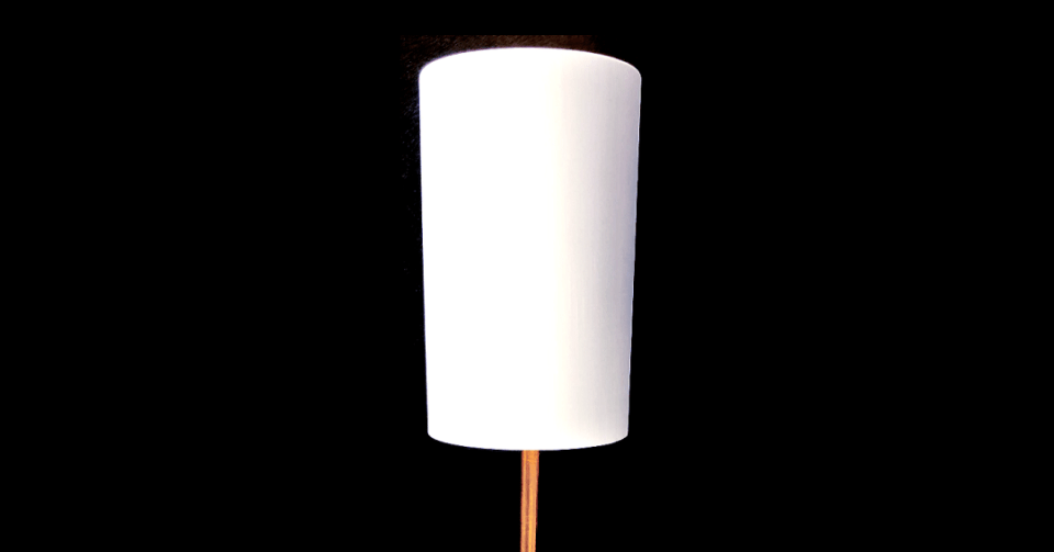 homsie white gold lamp shade