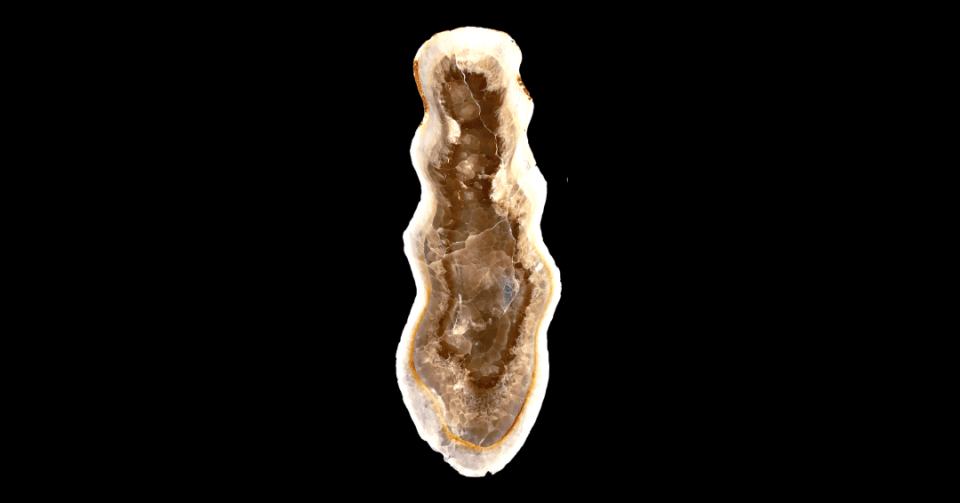 nacre gold onyx bowl vertical