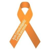 Acute Lymphoblastic Leukaemia Awareness Ribbon