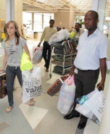 Debba and Emma Riggen & helpers - hospital deliveries