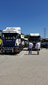 Truckers Convoy for Kids with Cancer 2014