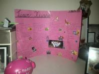 Laerskool Kallie De Haas classmates made Xuane a Good Luck poster