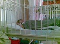 September 2011 resting after pain meds